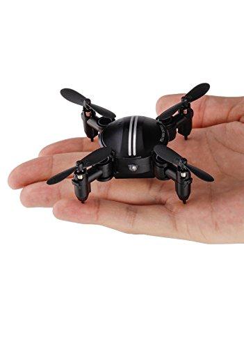 TOZO-FDJ-MINI-Drone-RC-Quadcopter-Modalit-di-attesa-di-altitudine-Pieghevole-RTF-3D-360-gradi-FPV-Altezza-Tenere-Facile-Fly-Stabile-per-imparare-Nero