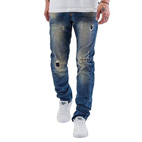 Just Rhyse Herren Jeans / Skinny Jeans Shion Blau