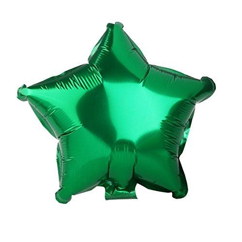 Luftballons Ballon Fünfzackigen Stern Folienballons Zufällige Farbe 8ST - 7