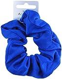 Blue Soft Jersey Fabric Hair Scrunchie Bobble Elastic Hair Band