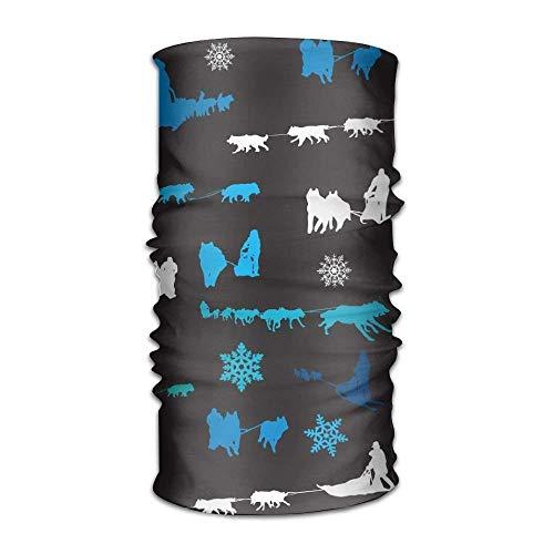 (Sturmhauben Beanie Sled Dog Siberian Husky Alaskan Malamute Multifunctional Bandanas for Men Women Sweatband Elastic Turban Headwear Headscarf)