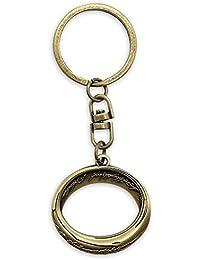 Der Herr der Ringe Schlüsselanhänger - Der Eine Ring, aus Metall goldfarben
