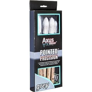 Axus Décor Pointed Precision Brush Set - Grey