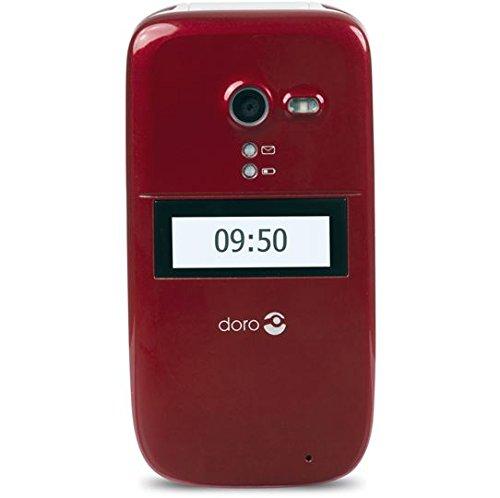 "Doro Phone Easy 624 (6,1 cm (2.4""), 320 x 240 Pixeles, MicroSD (TransFlash), 2 MP, 3G, GSM, HSDPA, HSUPA, UMTS, 900, 2100 MHz) ROT"