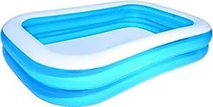 Bestway Family Pool Blue Rectangular, 262x175x51 cm