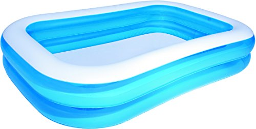 BESTWAY  54006 - PISCINA FAMILIAR RECTANGULAR  COLOR AZUL  269 X 175 X 51 CM