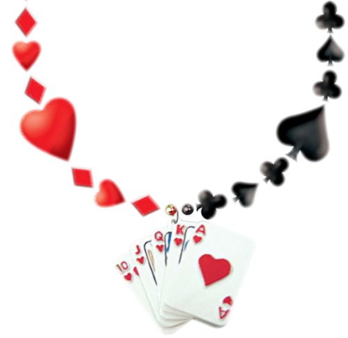 erdbeerclown- Kostüm Herzdame Kartenspiel Joker Karneval, Mehrfarbig