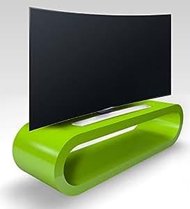 Cerceau de Style Rétro Grosse Pomme Brillant Vert Meuble Tv / Armoire 110cm