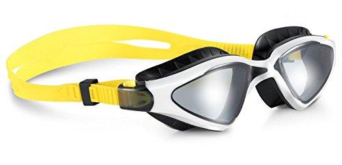 WATER-GAME Schwimmen Brille, Bequeme Passform und Großes Siegel, Anti-Pressen, Anti-UV und Antibeschlag und Bruchsichere Objektive, Leck-Proof / Prevent Wasser in Ihre Augen (Presse Und Dichtung Groß)