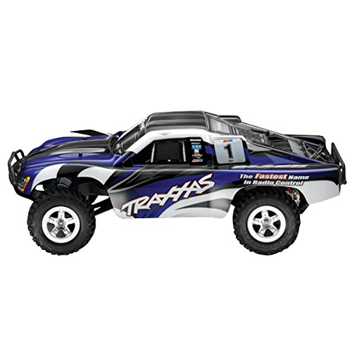 Traxxas TRX58024 - Slash Short-Course RTR Monster Truck 2WD, schwarz Rc Short Course Truck Rtr