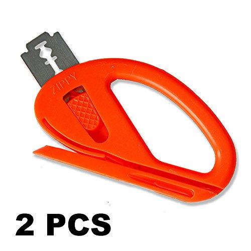 Ehdis Snitty Sicherheitsmesser Vinylauto-Verpackungs-Ausschnitt-Werkzeug-Carbon-Faser-Ausschnitt Anwendung Messer 4 x 2,6 Zoll ZIPPY – 2 PCS