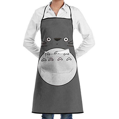 Cartoon Totoro Ajustable Chef Delantal Herramienta