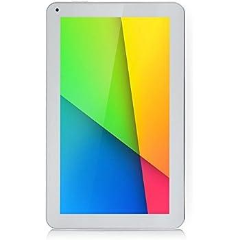 iRULU eXpro X1s - Tablet 10.1 pulgadas, Google Andorid 5.1 Lollipop, procesador de cuatro núcleos, 8GB Nand Flash, resolución 1024x600 HD, Color Blanco