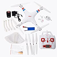 SYMA X8W WiFi FPV Headless Mode 2.4G RC Quadcopter Drone with HD 0.3MP Camera 6 Axis Gyro 3D Roll Stumbling UFO Real-Time Transmission by SYMA
