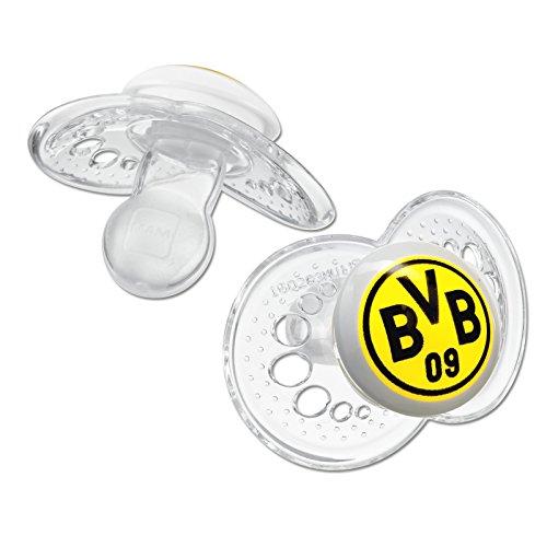 """Preisvergleich Produktbild MAM 66708401 Original Silikon 16+ """"Borussia Dortmund"""", transparent"""