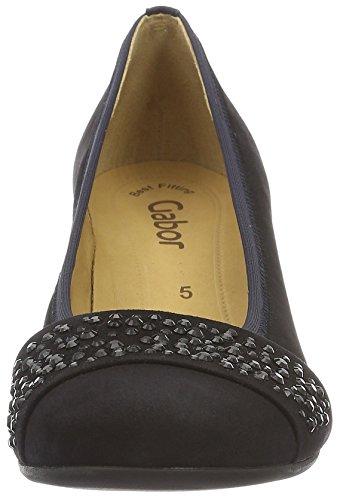 Gabor Fashion, Escarpins Femme Bleu (pazifik +Steine 16)