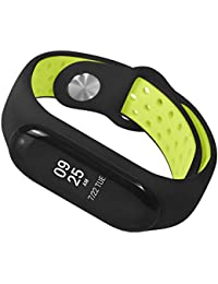 Warmpty XiaoMi Mi Band 3 Replacement Ventilate Sport Muñequera Correa para La Muñeca