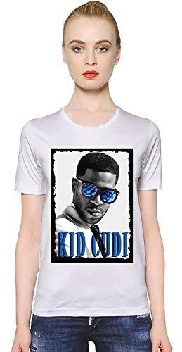 Kid Cudi Blau Sonnenbrille Blue Sunglasses Women T-Shirt Girl Ladies Stylish Fashion Fit Custom Apparel by Medium