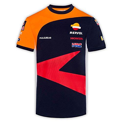 pritelli 1838501/XL Honda Repsol Moto GP Teamwear Replica Panel Camiseta Oficial 2018, Azul