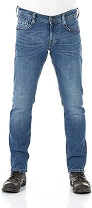MUSTANG heren jeans Oregon Tapered Fit Stretch Denim broek 99% katoen blauw grijs zwart W30 - W40
