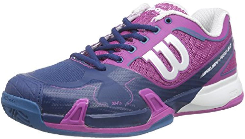 WILSON Rush PRO 2.0 Clay Court W Dark Peony Peony Peony 7.5 Scarpe da Tennis Donna, MultiColoreeee, 41 1 3 EU | New Style  | Sig/Sig Ra Scarpa  0843a2