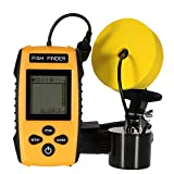 Best Fish Finder Under 200.00s - YHONG-FishFnder Fish Finders Alarm Portable, Wired Fish Detector Review
