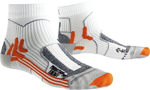 x-socks-calze-da-corsa-uomo-marathon-energy-uomo-x-socks-marathon-energy-bianco-arancione