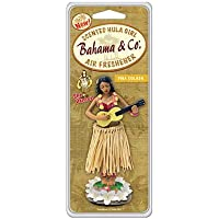 Bahama & Co 06760 Pina Colada Scented Hula Girl, Sassy Island Flair, Tropical Fragrance, Long Lasting Authentic Scent, Whimsical Dancing Movement While Driving - ukpricecomparsion.eu