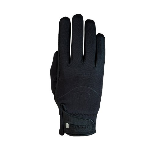 Roeckl Sports Winter Handschuh Winchester, Unisex Reithandschuhe, Schwarz, 8,5