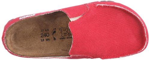 Birki Klassic Skipper 197423, Scarpe basse donna Rosso (Rot (RED   WB))