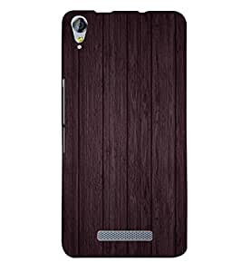 Fiobs Designer Phone Back Case Cover Micromax Canvas Juice 3+ Q394 :: Micromax Canvas Juice 3 Plus Q394 ( Wood Look Pattern Finish )