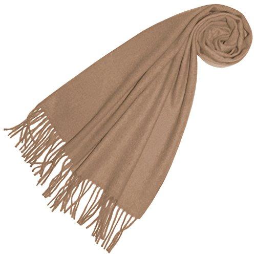 Lorenzo Cana Luxus Damen Kaschmirschal 100% Kaschmir Schal extra flauschig Made In Germany gewebt in harmonischen Farben 93250