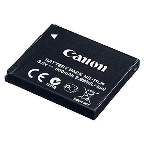 Canon 9391B001AA Akku NB-11LH in schwarz für Canon kompatible Kameras (Kamera Canon Akku)