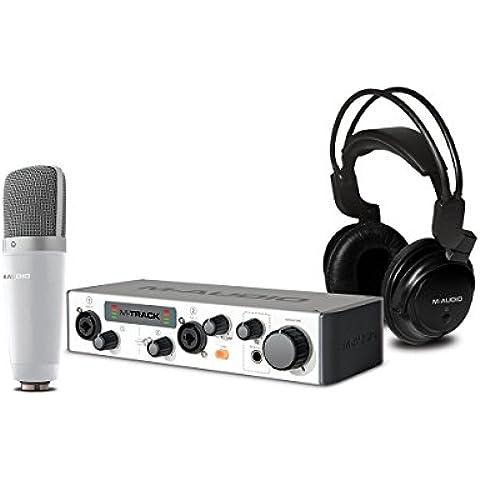 M-Audio Vocal Studio Pro II - Paquete completo de grabación (plug-ins de Waves, Ableton Live Lite y los instrumentos Songwriter Suite)