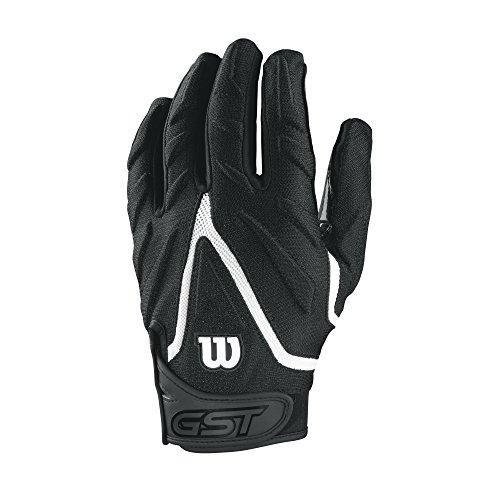 Wilson GST Big Skill American Football Handschuhe - schwarz Gr. L