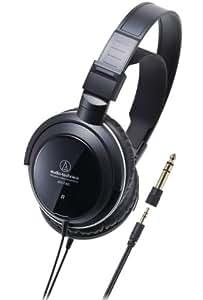 Audio-Technica ATH-T300 Casque Fermé pour Home Studio Jack 6,3 mm Noir