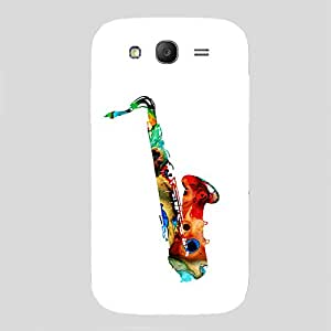 Back cover for Samsung Galaxy Grand Prime Colourfull Saxophone