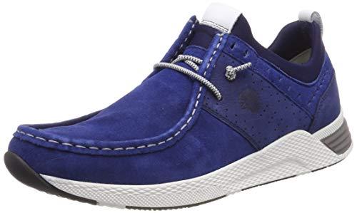 Sioux Herren Grash-H191-40 Sneaker, Blau (Bermuda 2X/Indaco 008), 44.5 EU