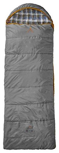 Grand Canyon Utah Deckenschlafsack, 3-Jahreszeiten, grau/orange, 301004L