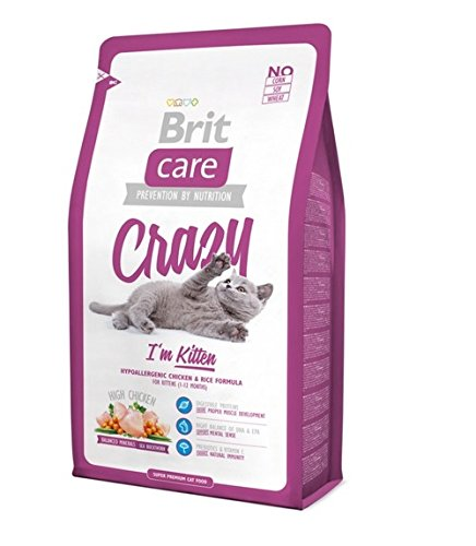 BRIT Care Cat Crazy I'm Kitten Croquette pour Chatons 7 kg