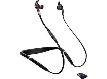 Jabra Evolve 75e | gürültü önleme teknolojisine sahip kablosuz kulak içi ofis kulaklığı