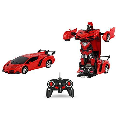 ferngesteuertes auto spielzeugautos 1:18 Transformator drahtlose Fernbedienung Auto Verformung Roboter Kinder Spielzeug