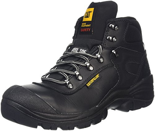 Caterpillar Pneumatic S3, Scarpe Antinfortunistica Uomo, Nero (Black), 41 EU