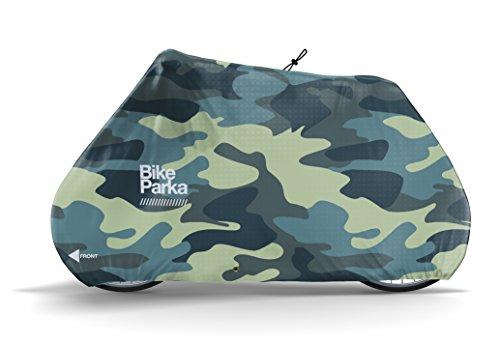 BikeParka Stash Wasserdichte Fahrrad-Abdeckung, camouflage