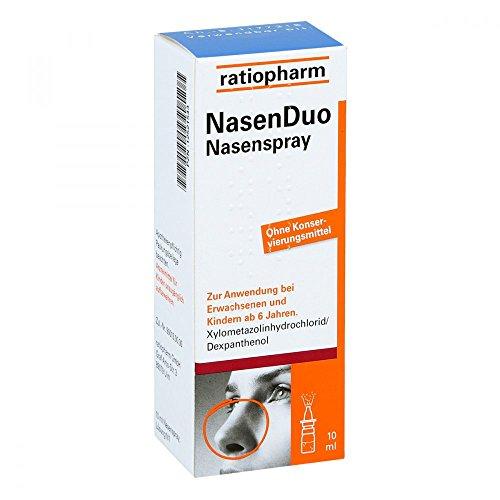 Nasenduo Nasenspray 10 ml