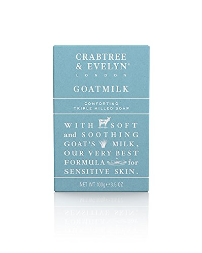 Crabtree & Evelyn Goatmilk Tripple Milled Soap St ückseife 100 g