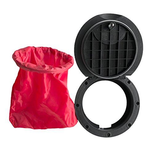 Descripción:       - Ligero y portátil para llevar, fuerte y duradero    - Impacto y resistencia a la corrosión    - Conveniente para instalar y eliminar fácilmente    - Diseño especial con la bolsa impermeable roja para el almacenamiento    ...