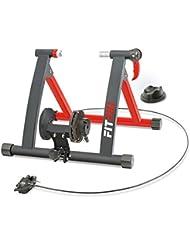 Fitfiu -  ROB-10 Rodillo Entreno para Bicicleta, Unisex Adulto, Negro, 50x20x50 cm