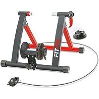 Fitfiu ROB-10 Rodillo entreno para Bicicleta, Unisex Adulto, Negro, 50x20x50 cm