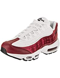 buy popular 0efc6 db387 Nike WMNS Air Max 95 LX, Chaussures de Running Compétition Femme, Multicolore  Red Crush White Black 601, 37.5…